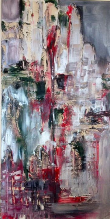 """Painting titled """"Réminiscence"""" by Elynguess, Original Art,"""