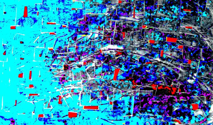 "Emile G "" Saturation 9"" - Painting ©2015 by Emile G -                            Abstract Art, art abstrait, art contemporain, abstraction"