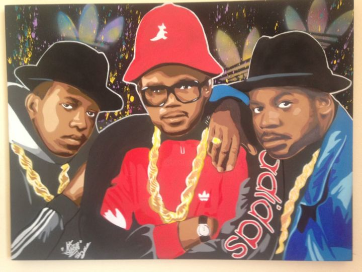 run dmc Painting by diego style | Artmajeur
