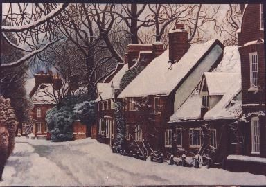 Winter - Painting ©1999 by Anthony Payne -