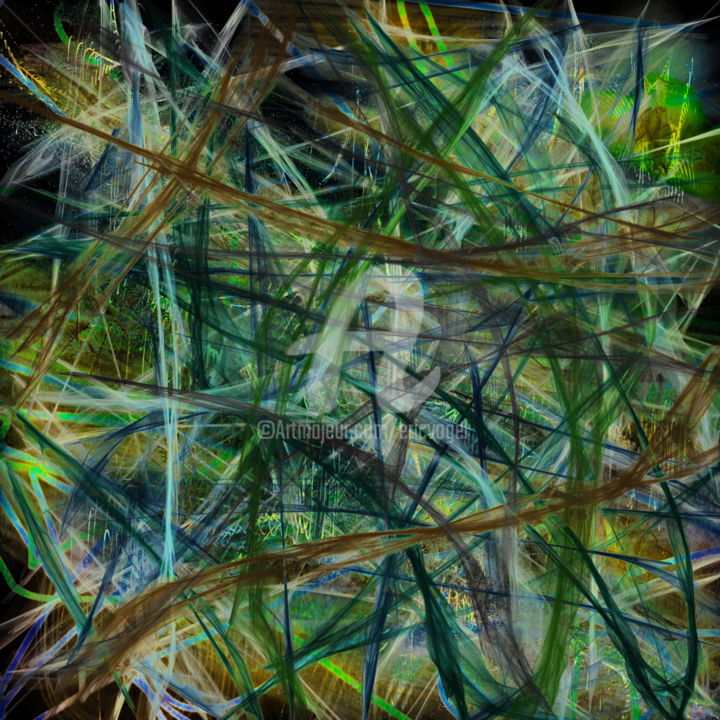 BACK - Digital Arts, ©2017 by Eric Vogel -                                                                                                                                                                                                                                                                      Abstract, abstract-570, Abstract Art, art abstrait, art numerique