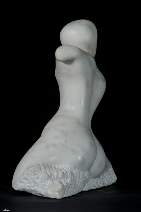 ALTRES CULTURES - Sculpture,  16.5x12.2x5.5 in, ©1974 by José Luís Navarro Esteve -