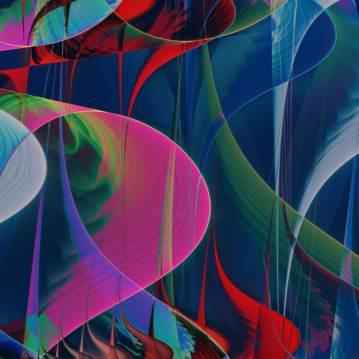 Abstract Composition 446 - Digital Arts, ©2018 by Angel Estevez -                                                                                                                                                                                                                                                                                                                                                              Abstract, abstract-570, Abstract Art, abstract, abstracts, modern, contemporary