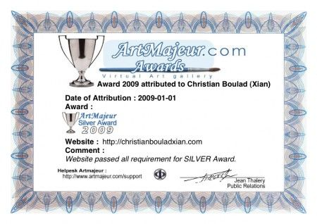 Xian Site- Silver Award 2009 by Art Majeur