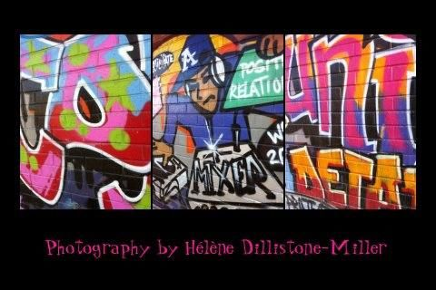 Street Art - Photography, ©2013 by Helene Dillistone-Miller -
