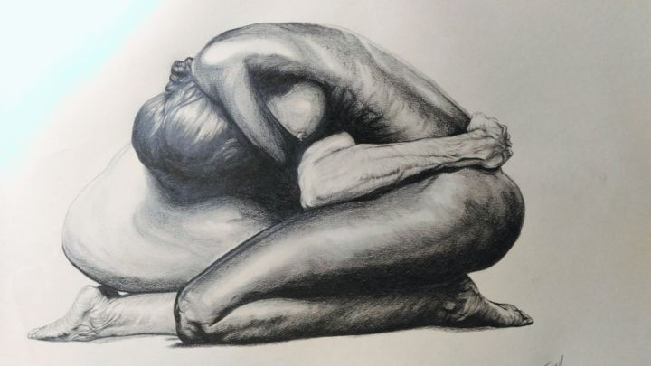 Nude Drawings Of Women Black And White