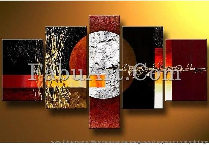 Modern Abstract Art Painting - Painting,  37x65x0.4 in, ©2013 by Amanda Eck -                                                                                                                                                                          Abstract, abstract-570, a nice abstract art painting from fabuart