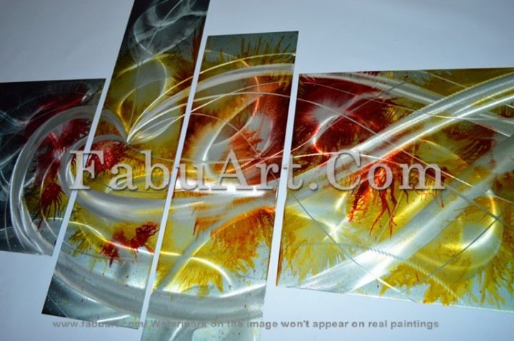 Modern Abstract Art Painting - Painting,  0.4 in, ©2013 by Amanda Eck -