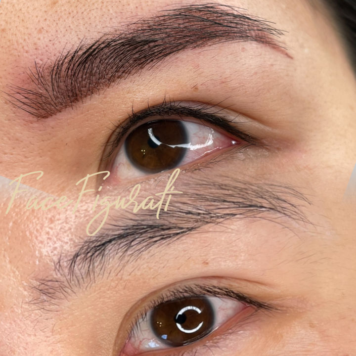 """Photography titled """"Cosmetic Eyebrow Ta…"""" by Face Figurati, Original Art, Digital Photography"""