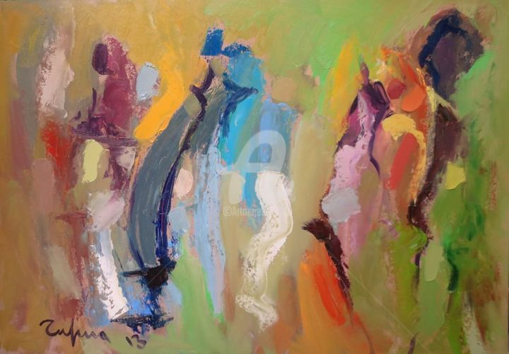 Women Painting By Tufina Artmajeur