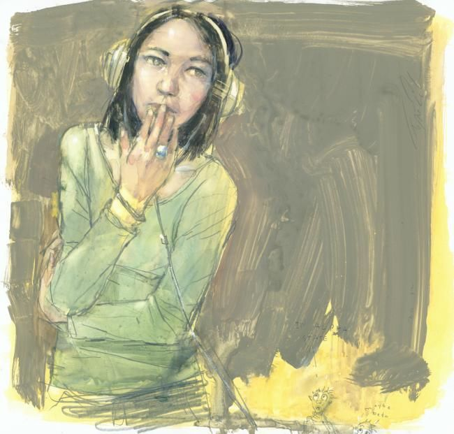Image result for woman as music paintings