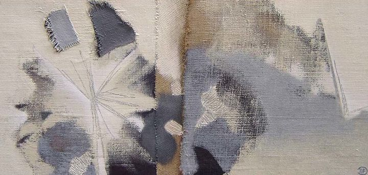 Luminescence - Painting,  50x100x3 cm ©2014 by Filée Dominique - DIF -