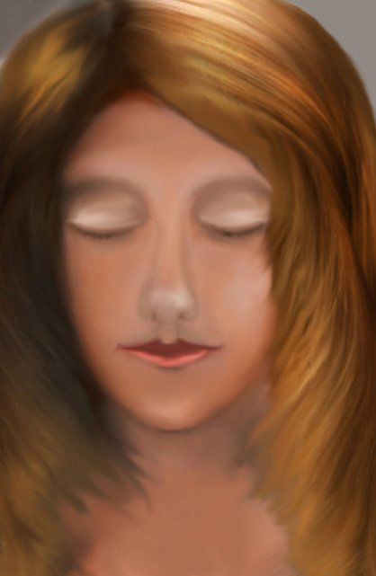 Portrait - Digital Arts ©2012 by fixer -            portrait of girl