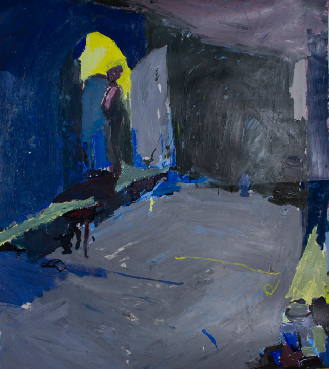 Large Coloured Painting - © 2005  Online Artworks