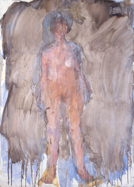 """Painting titled """"Nude 4"""" by Fleur Elise Noble, Original Art, Acrylic"""