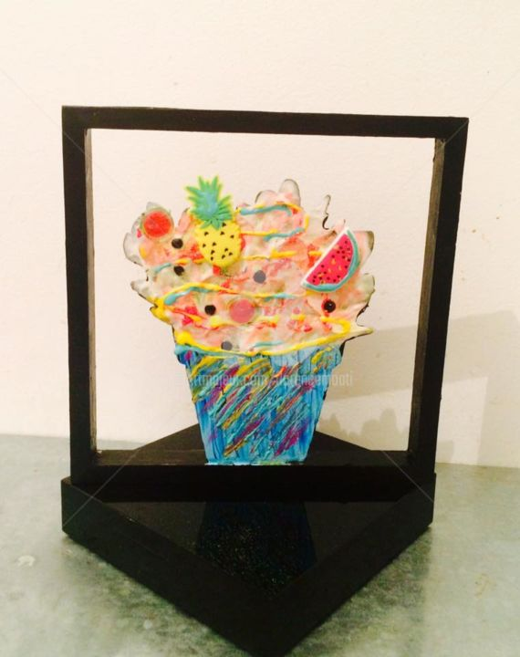 Ice cream funny summer - Painting ©2018 by FlorenceGM -