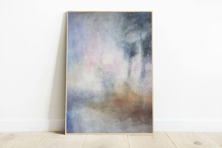 """Painting titled """"evanescent trees"""" by fosca-nigido, Original Art, Acrylic Mounted on Stretcher frame"""