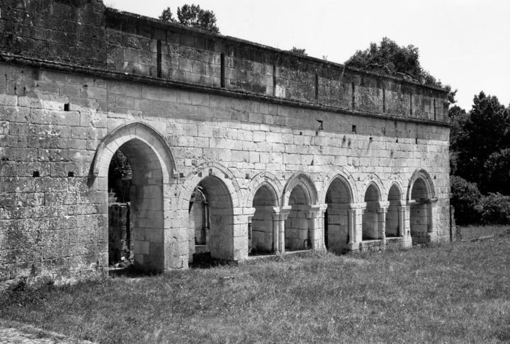 L'abbaye - Photography,  19.7x27.6 in, ©2020 by Frédéric Duchesnay -                                                                                                                                                                                                                                                                      Classicism, classicism-933, Architecture, ruine, abbaye