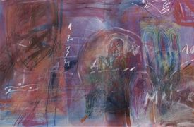 """Drawing titled """"Jacob's Ladder"""" by Gabriel Mihalache, Original Art, Other"""