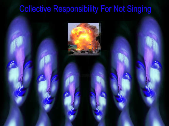 Choir Of Collective Responsibility - Photography,  40x30 cm ©2007 by Gabrijel Savic Ra -