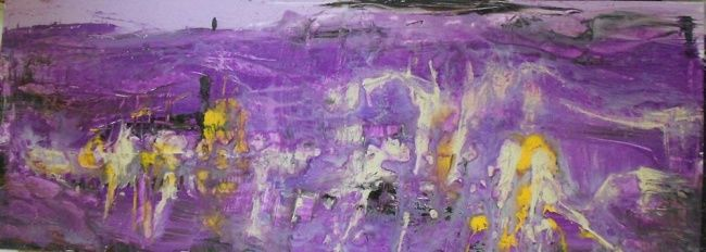 Painting,  130 x 45 cm ©2011 by Ulrich De Balbian -  Painting, Abstract Painting, abstract, painting, ulrich de balbian