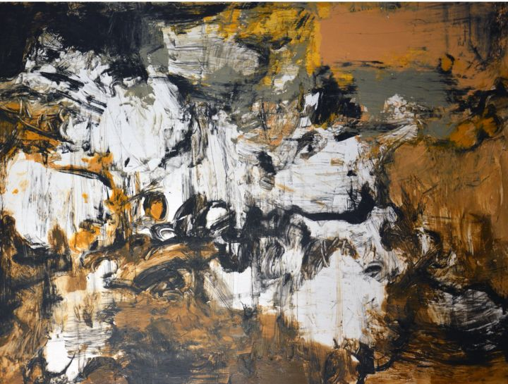 """Painting titled """"Abstract Works of C…"""" by Gao, Original Art, Oil"""