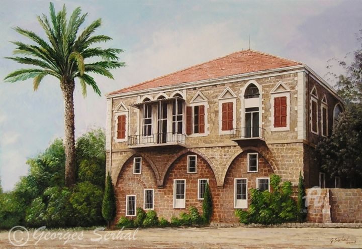 Old lebanese houses pictures