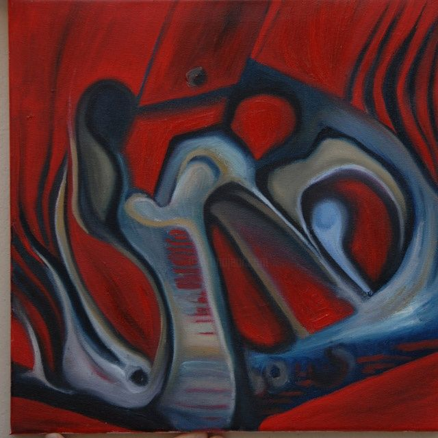 """Painting titled """"res2"""" by Gogol Tallot, Original Art, Oil"""