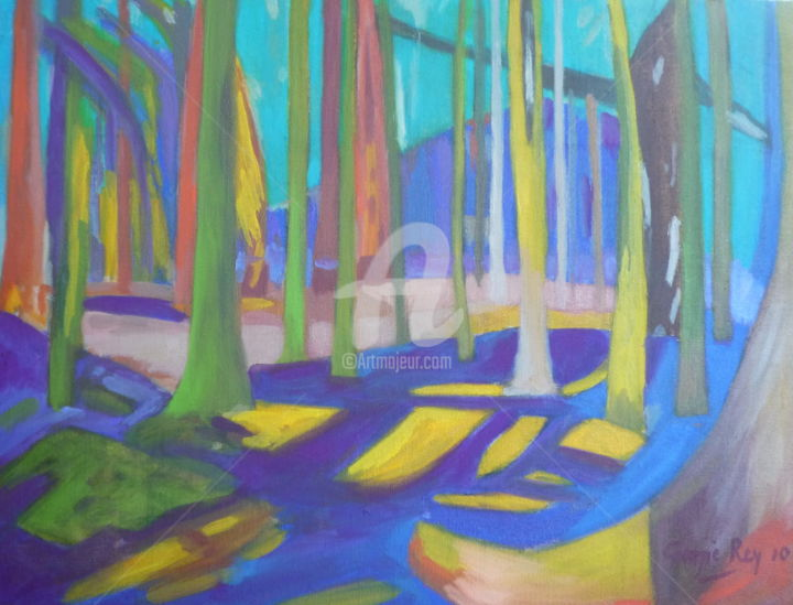 Turquoise Forest 2012 - ©   Online Artworks