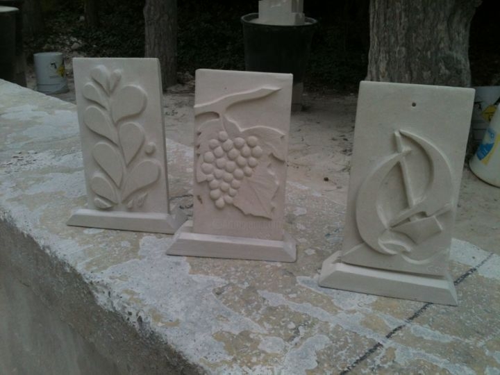 plaques-decoratives-2.jpg - Sculpture, ©2014 by Gepsy -                                                              Stone