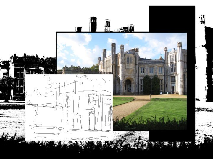 The Monster Eats - ©  architecture, Highcliffe Castle Online Artworks