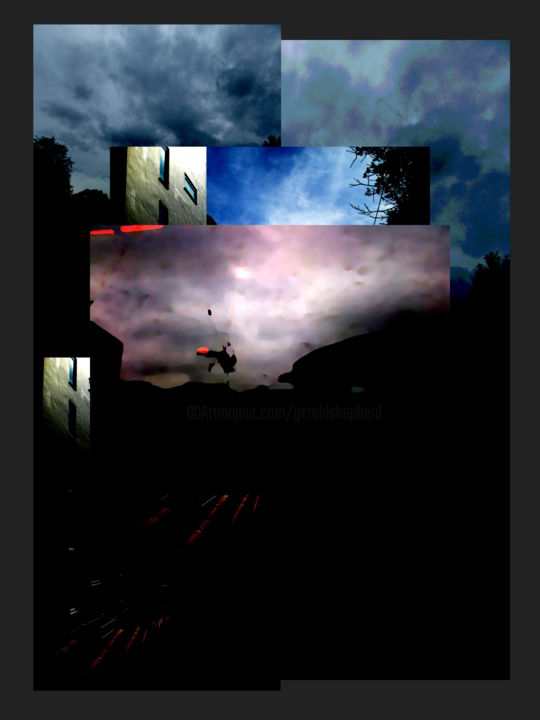 The End Is A Coming Together Of All Beginnings - ©  abstract, dusk, sky, landscape Online Artworks