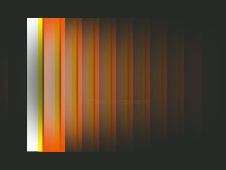 Coming Into Southampton - ©  abstracts, colours, sequence, digital painting Online Artworks