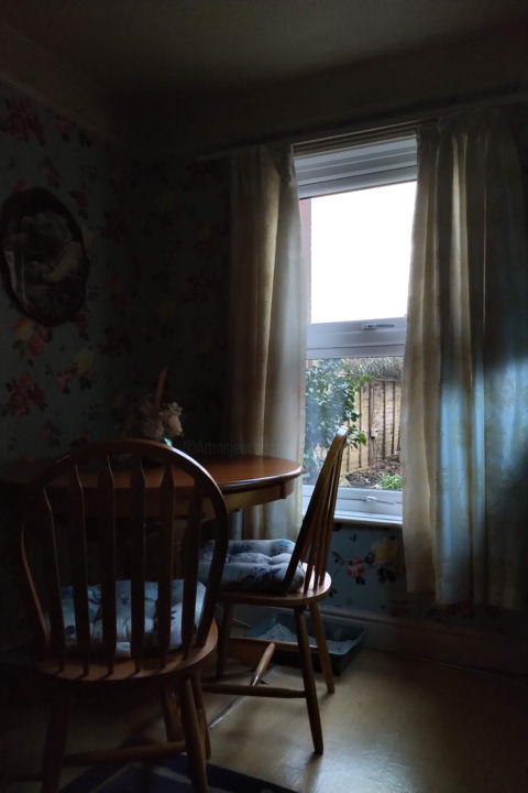 Tranquil Space - ©  digital phoography, dining room, light, tranquillity Online Artworks