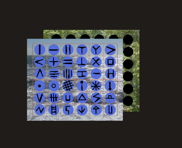 Opus Something Else - Digital Arts, ©2009 by Gerald Shepherd -                                                                                                                                                                                                                                                                                                                                                                                                                                                                                                                                                                                                                                      Outsider Art, outsider-art-1044, Abstract Art, Landscape, Seascape, symbol sequence, icons, shapes, sequences, landscape, seascape, modern art, digital processing
