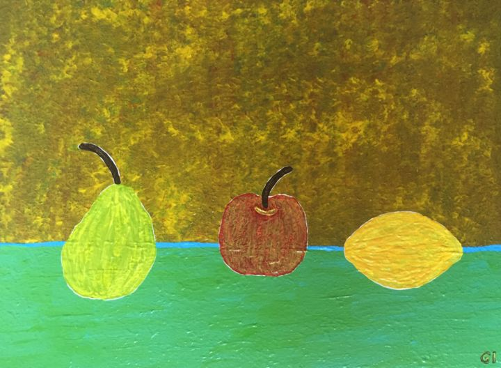 The Fruit On The Table Boyama Pictures From Gi Art Tarafindan