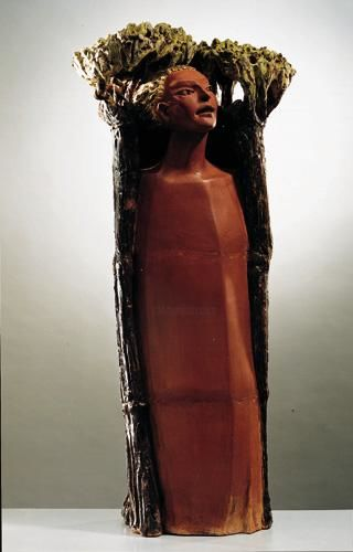 DAFNE - Sculpture,  115x50x45 cm ©1998 by Marcello Giannozzi -