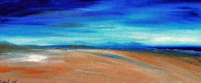 BLEND - Painting,  11.8x23.6 in, ©2006 by Gill Mcculloch -