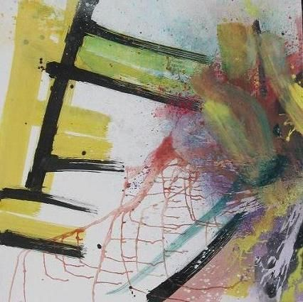 Trittico   (completo) - Painting,  59.1x177.2 in, ©2007 by Gino Loperfido -