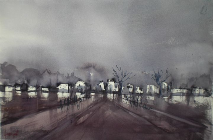 an imaginary city 15 - © 2019 cityscape, cities Online Artworks