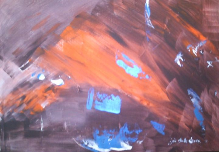877-b-dsc-0317-sans-titre-acrylique-11-2012-oeuvre-de-gisele-dalla-longa-c.jpg - Peinture,  15x21,7 in, ©2012 par Gisèle Dalla Longa -                                                                                                                                                                                                                                                                                          keywords A, Keywords B, Keywords C, Art, Abstrait, Acrylique