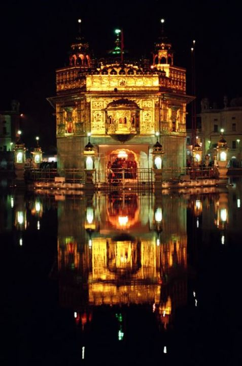 """Photography titled """"The Golden Temple"""" by Anurag Yadava, Original Art,"""
