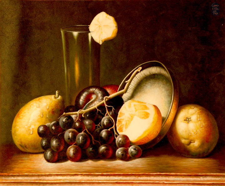 Goletto fruits l 39 ancienne goletto for Peinture a l ancienne