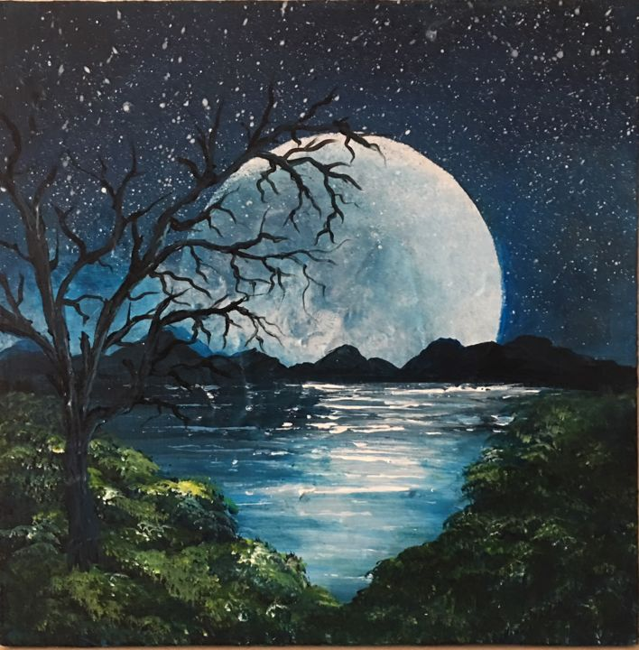 Over the moon - © 2016  Online Artworks