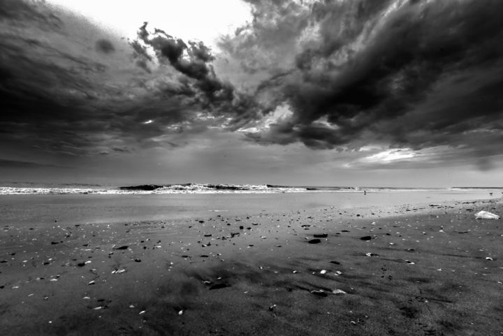 """Photography titled """"Cloud & Water in Ke…"""" by Goutam Chakraborty, Original Art, Digital Photography"""
