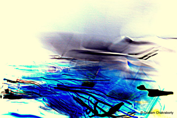"""Digital Arts titled """"Painting with Light…"""" by Goutam Chakraborty, Original Art,"""
