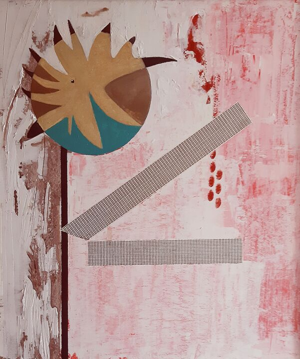 """Painting titled """"Assedi anacronistic…"""" by Giovanni Greco, Original Art, Enamel"""
