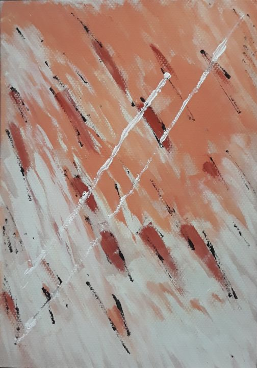 """Painting titled """"Flash thoughts"""" by Graciete Matos, Original Art, Acrylic"""