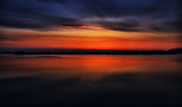 """Photography titled """"Couchiching Dawn"""" by Gracey, Original Art,"""