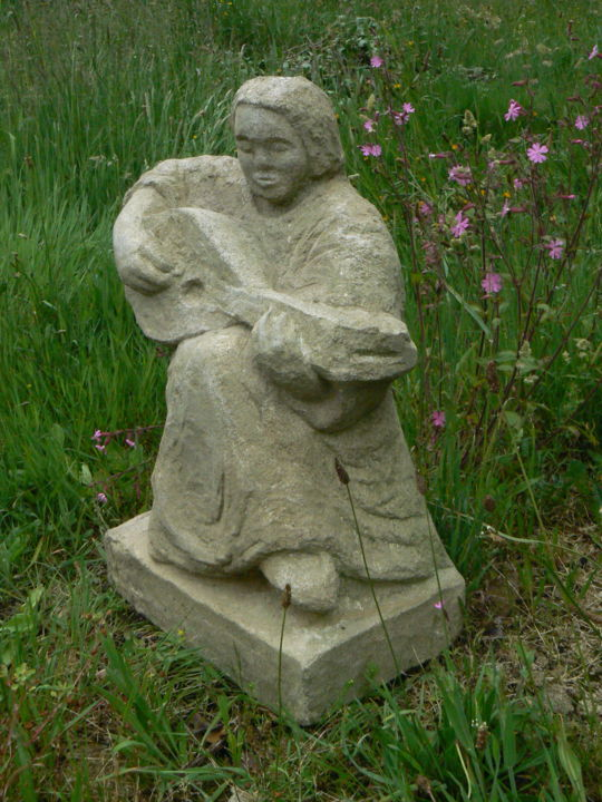 Sculpture, pierre, figuratif, œuvre d'art par Venner Fanch